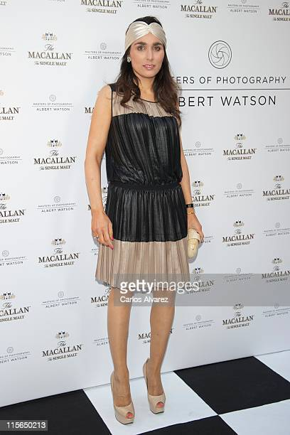 """Paloma Segrelles attends """"Master of Photography"""" exhibition at Galileo Theater on June 8, 2011 in Madrid, Spain."""