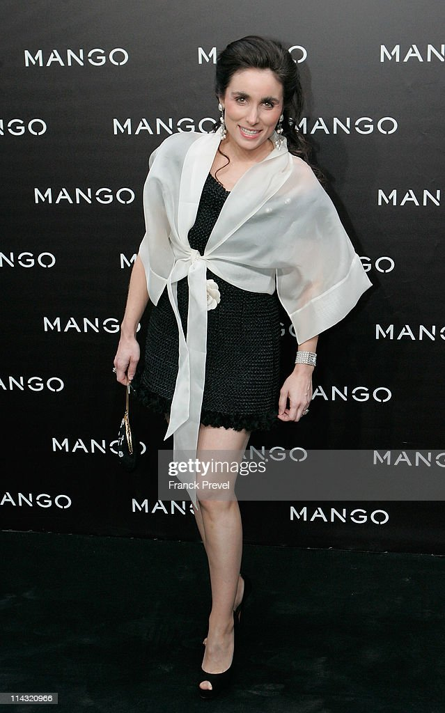 Mango New Collection Presentation at Centre Pompidou - Photocall And Party : News Photo