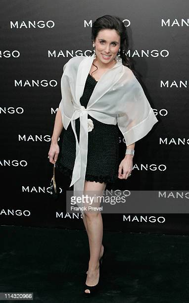 Paloma Segrelles attends the Mango new collection launch at Centre Pompidou on May 17 2011 in Paris France
