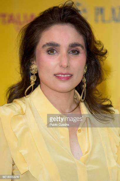 Paloma Segrelles attends the 'Premio Taurino ABC' awards at the ABC Library on February 20 2018 in Madrid Spain