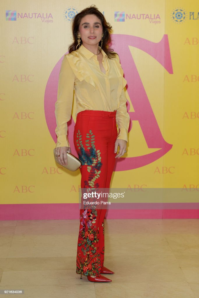 Paloma Segrelles attends the 'X Premio Taurino ABC' photocall at ABC Museum on February 20, 2018 in Madrid, Spain.