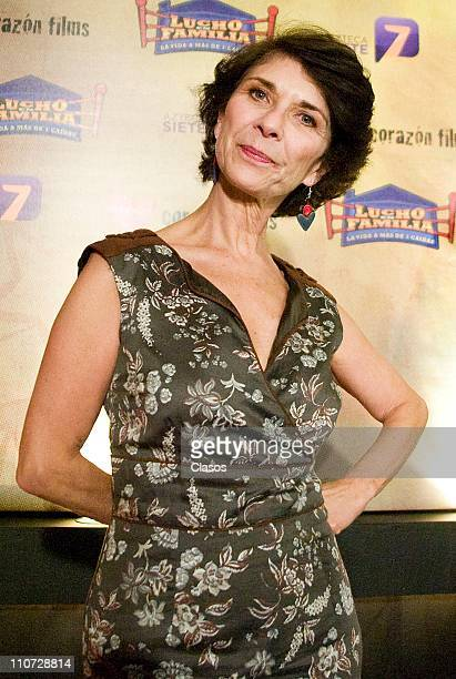 Paloma Woolrich attends to the presentation of the tv serie Lucho en Familia at the Camino Real Hotel on March 23 2011 in Tlalnepantla Mexico