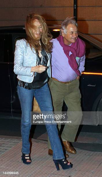 Palomo Linares and Lilia Lopez are seen on April 23 2012 in Madrid Spain