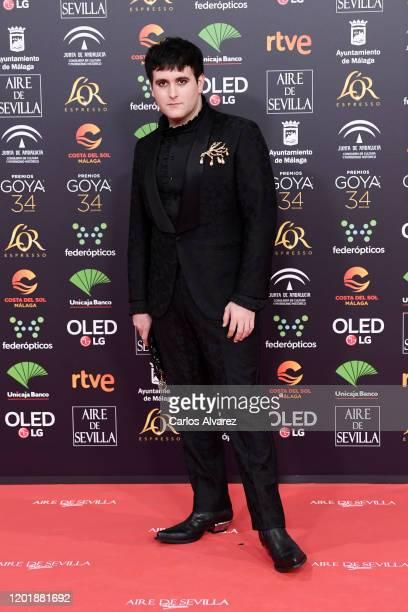 Palomo Spain attends the Goya Cinema Awards 2020 during the 34th edition of the Goya Cinema Awards at Jose Maria Martin Carpena Sports Palace on...