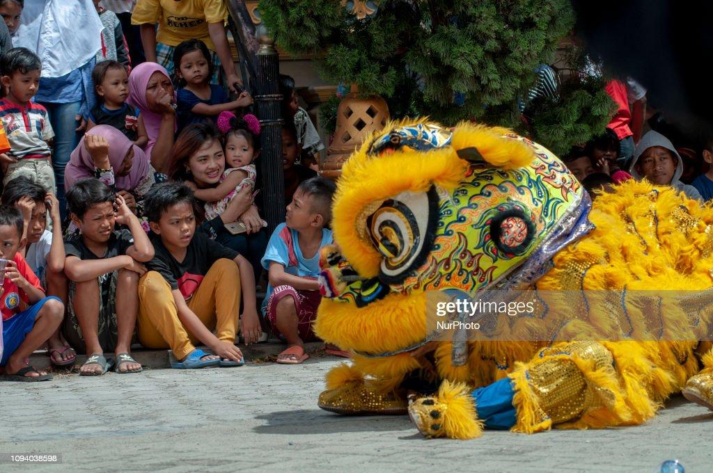 Chinese New Year Celebration In Palu, Indonesia : News Photo