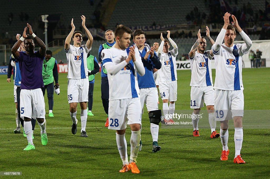 Lech Poznan News: Palyers Of KKS Lech Poznan Celebrates The Victory After