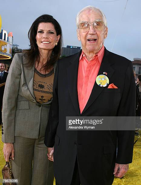 Pam and Ed McMahon at the The Simpsons Movie premiere at The Mann Village Theaters on July 24 2007 in Westwood California