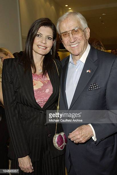 Pam and Ed McMahon during Peace and Love Jewelry by Nancy Davis Launch Party at Saks Fifth Avenue in Beverly Hills California United States