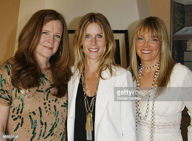 Pam Bergman Kristen Buckingham and Maria Bell attend PS Arts Presents The Bag Lunch on May 7 2010 in Los Angeles California