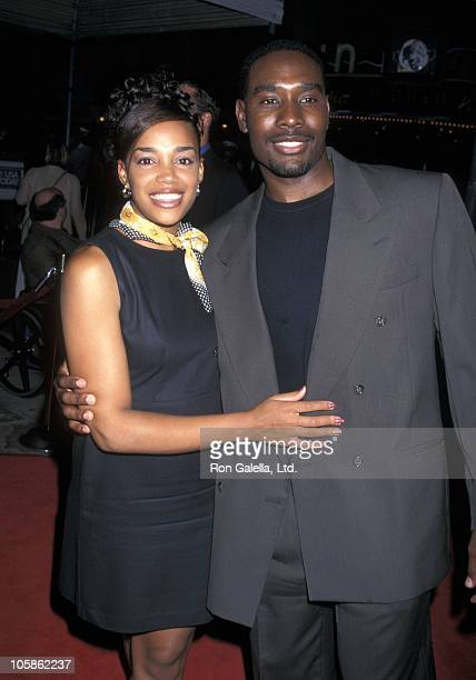 Pam Byse and Morris Chestnut during GI Jane Premiere at Mann Village Theatre in Westwood California United States