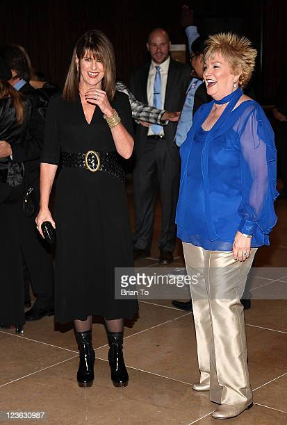 Pam Dawber and Mary Willard attend Big Brothers Big Sisters 2010 Rising Stars Gala at The Beverly Hilton hotel on October 29 2010 in Beverly Hills...