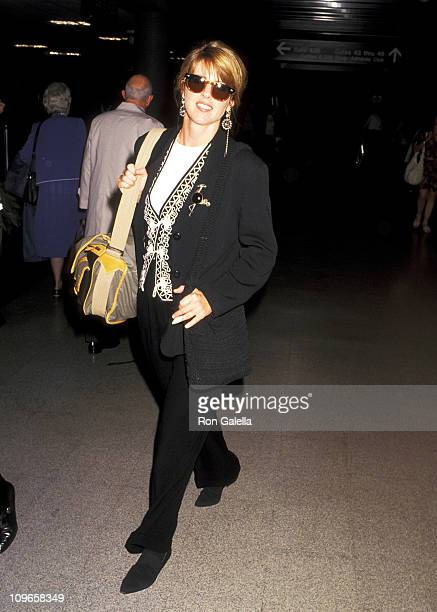 Pam Dawber during Pam Dawber Sighting at Los Angeles International Airport October 26 1993 at LAX in Los Angeles California United States