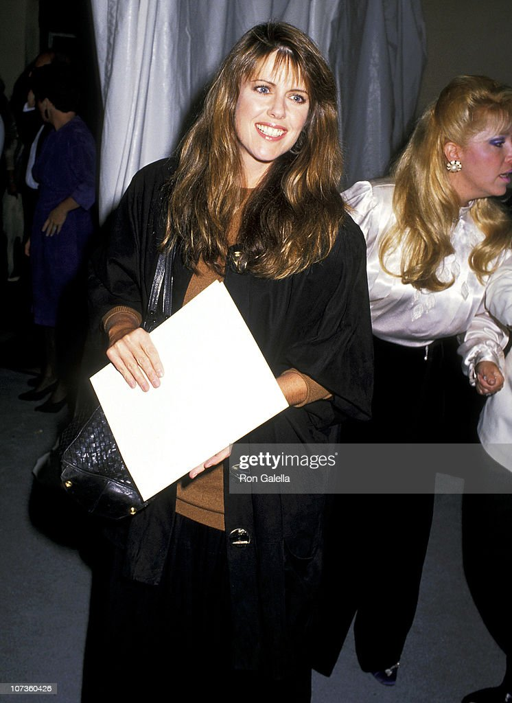 Pam Dawber during Starlight Foundation Benefit - September 22, 1988 at Ed Debevic's Restaurant in Beverly Hills, California, United States.