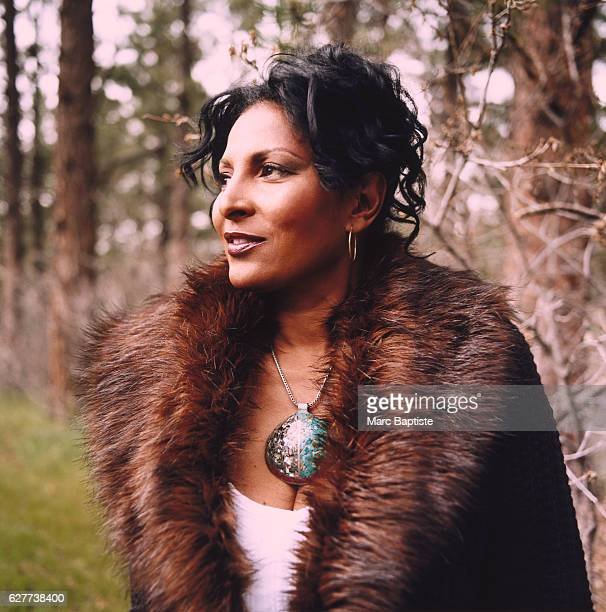 Pam Grier Among the Trees