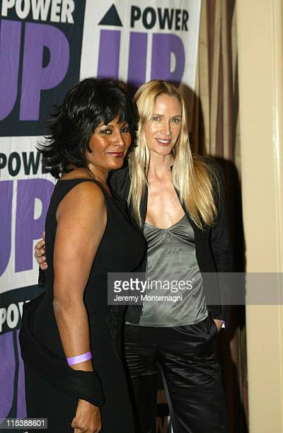 Pam Grier and Kelly Lynch during The 3rd Annual Power Up Premiere Gala at The Regent Beverly Wilshire Hotel in Beverly Hills California United States