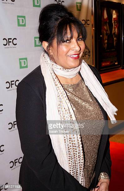 Pam Grier attends An Evening With Pam Grier for 2012 Black History Month at Cineplex Odeon Varsity and VIP Cinemas on February 2 2012 in Toronto...