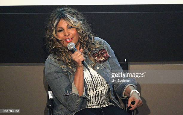 Pam Grier attends Foxy The Complete Pam Grier Film Series at Walter Reade Theater on March 15 2013 in New York City