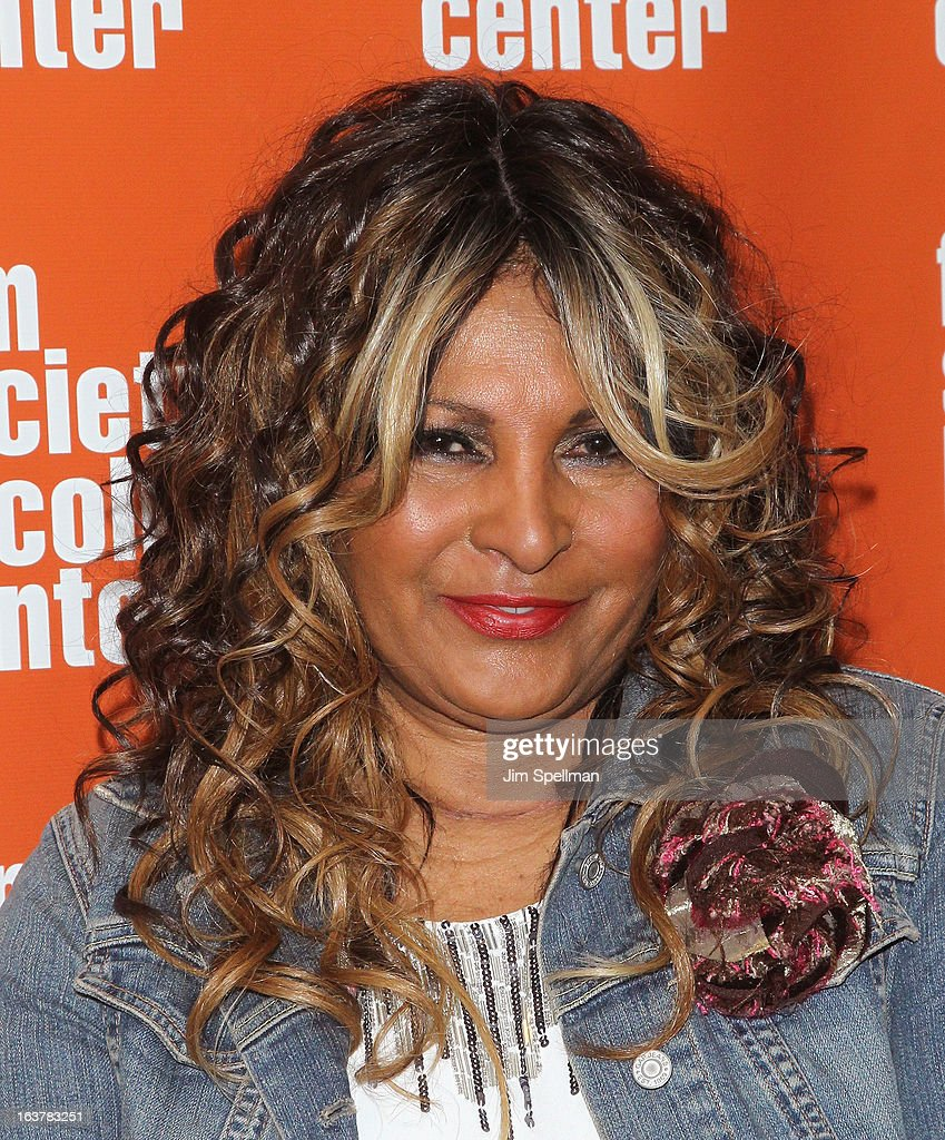 Pam Grier attends 'Foxy, The Complete Pam Grier' Film Series at Walter Reade Theater on March 15, 2013 in New York City.