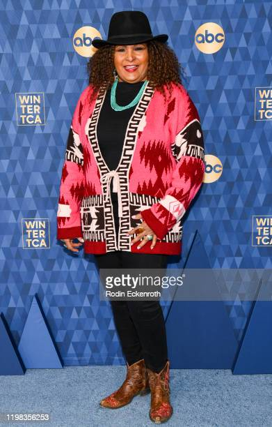 Pam Grier attends the ABC Television's Winter Press Tour 2020 at The Langham Huntington, Pasadena on January 08, 2020 in Pasadena, California.