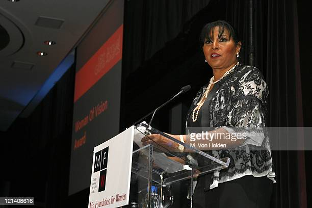 Pam Grier during Ms Foundation for Women's 18th Annual Gloria Awards at Mandarin Hotel in New York NY United States
