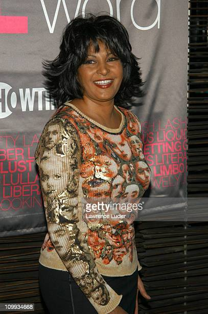 Pam Grier during Showtime Hosts Luncheon To Celebrate The Launching of 'The L Word' at The Blue Fin at The W Hotel in New York City NY United States