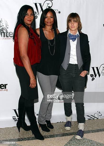 Pam Grier Rose Rollins and Daniela Sea attend the Lesbian Gay Bisexual Transgender Community Center 25th Anniversary and 11th Annual Women's Event at...