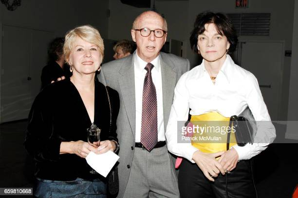 Pam Hill Allan Katz and Elizabeth Pochoda attend American Folk Art Museum's Gala Celebrating Advocates for the Arts at Tribeca Rooftop on November 11...
