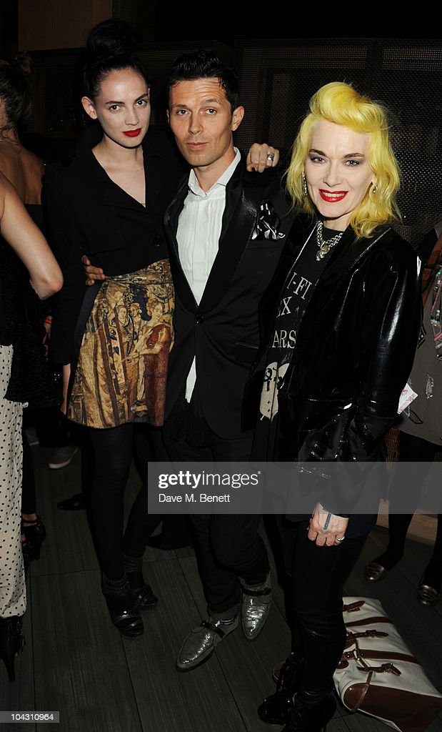 Pam Hogg attends private dinner hosted by AnOther Magazine to celebrate the latest cover star Bjork at Sake No Hana on September 20, 2010 in London, England.
