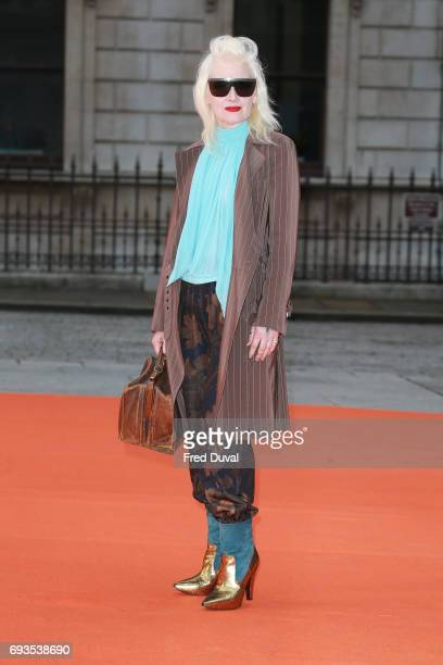 Pam Hogg attends the preview party for the Royal Academy Summer Exhibition at Royal Academy of Arts on June 7 2017 in London England