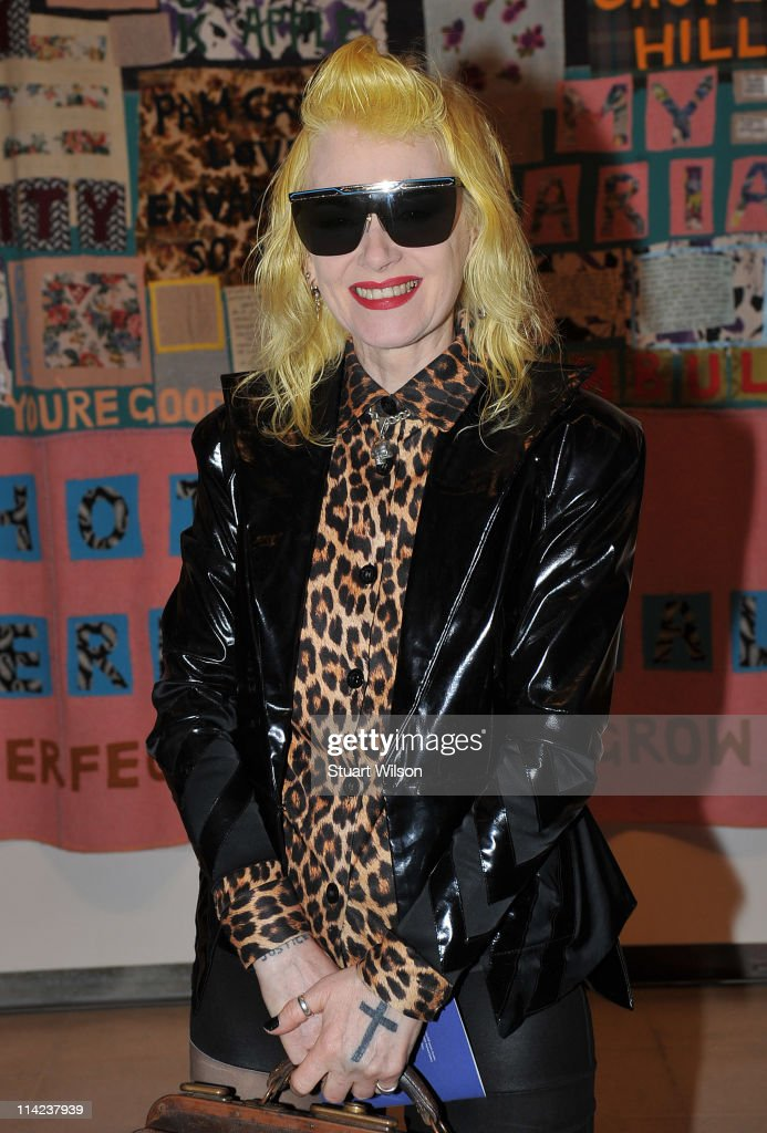 Pam Hogg attends the 'Tracey Emin: Love Is What You Want' Press View at The at The Hayward Gallery on May 16, 2011 in London, England.
