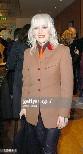 Pam Hogg during Mulberry and Abigail Lane Christmas Collaboration Launch Party at Mulberry Bond St in London Great Britain