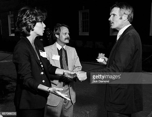 Pam Martin, Dante Stephensen and Ted Turner party on the Techwood Drive home of Turner Broadcast System . The Cable News Network launched this day at...