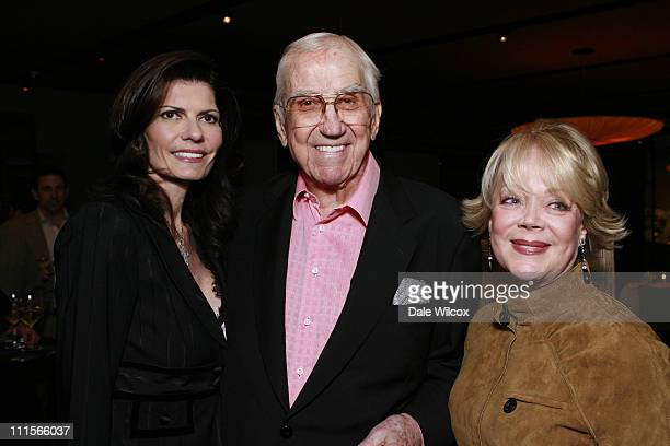 Pam McMahon Ed McMahon and Candy Spelling during Nancy Davis Lean On Me Book Launch Party at Norman's in Los Angeles California United States