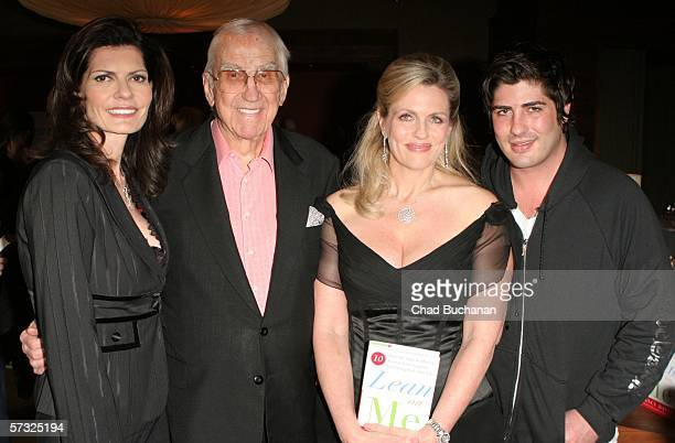 Pam McMahon Ed McMahon Nancy Davis and Alexander Davis attend the the book party for Lean on Me by Nancy Davis on April 11 2006 at Norman's in West...