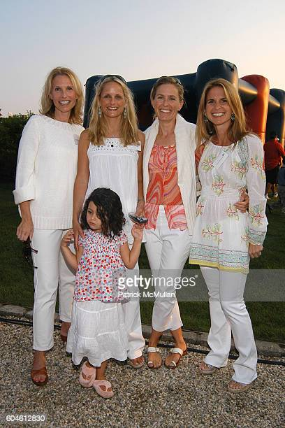 Pam Michaelcheck, Heather Mnuchin, Emma Mnuchin and Danielle Ganek attend The Annual American Picnic To Benefit The SOUTHAMPTON FRESH AIR HOME at...