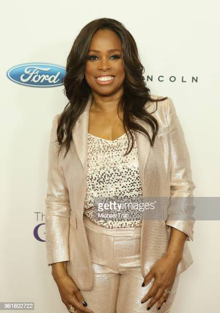 Pam Oliver arrives to the 43rd Annual Gracie Awards held at the Beverly Wilshire Four Seasons Hotel on May 22 2018 in Beverly Hills California