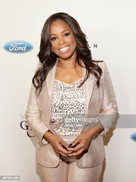 Pam Oliver attends the 43rd Annual Gracie Awards at the Beverly Wilshire Four Seasons Hotel on May 22 2018 in Beverly Hills California