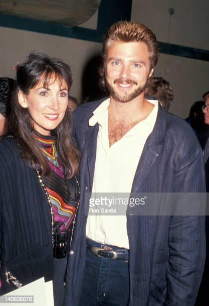 Pam Serpe and Greg Evigan at the Starlight Foundation Gala Ed Debevic's Restaurant Beverly Hills