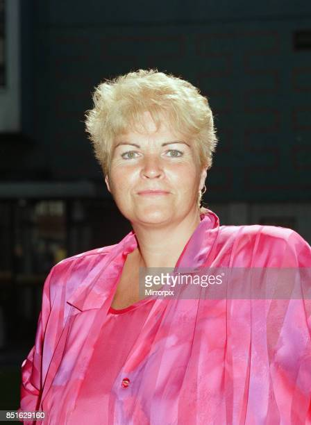 Pam St Clement who plays Pat Butcher in the BBC television soap East Enders 16th August 1988