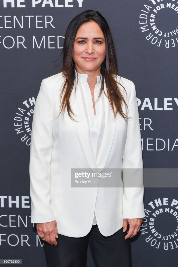 Pamela Adlon attends Paley Honors in Hollywood: A Gala Celebrating Women in Television at Regent Beverly Wilshire Hotel on October 12, 2017 in Beverly Hills, California.