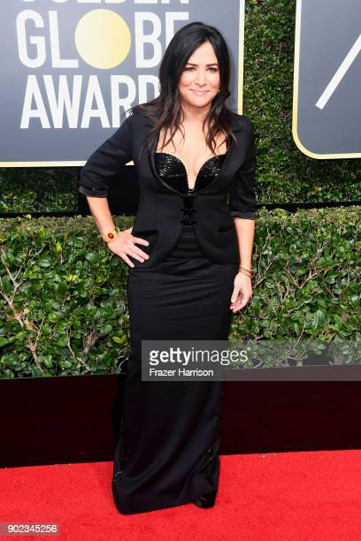 Pamela Adlon attends The 75th Annual Golden Globe Awards at The Beverly Hilton Hotel on January 7 2018 in Beverly Hills California