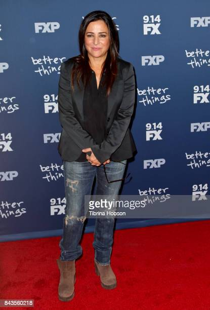 Pamela Adlon attends the premiere of FX's 'Better Things' season 2 at Pacific Design Center on September 6 2017 in West Hollywood California