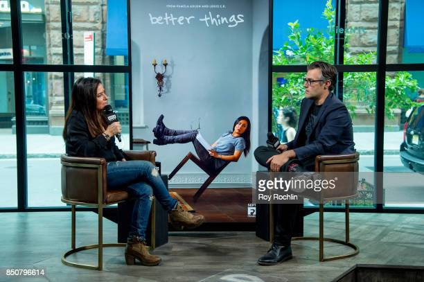 Pamela Adlon discusses 'Better Things' with the Build Series on September 21 2017 in New York City
