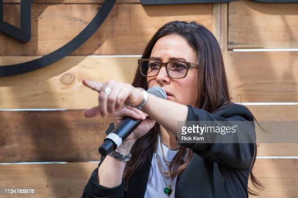 Pamela Adlon Executive Producer Writer Director and Actor attends the Fast Company Grill on March 09 2019 in Austin Texas