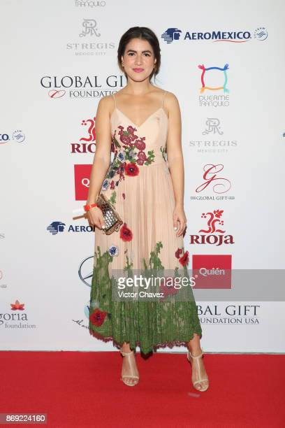Pamela Allier attends The Global Gift Gala Mexico 2017 at St Regis Hotel on November 1 2017 in Mexico City Mexico