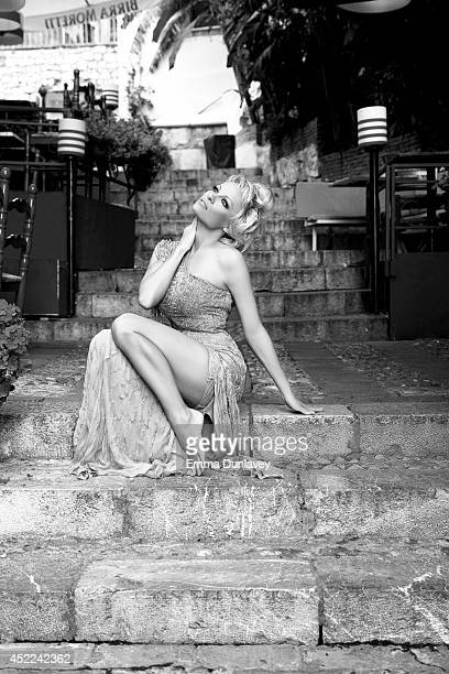 Pamela Anderson Actress Pamela Anderson is photographed for Self Assignment on June 18 2014 in Taormina Italy