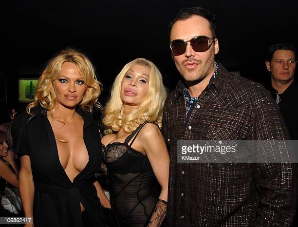 Pamela Anderson Amanda Lepore and David LaChapelle *EXCLUSIVE*