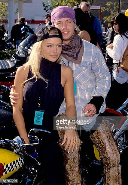Pamela Anderson and Bret Michaels of Poison