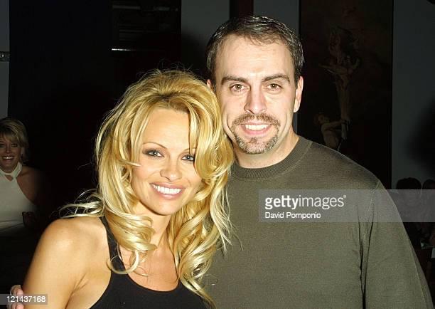 Pamela Anderson and Chris Craven Sirius Satellite Radio contest winner