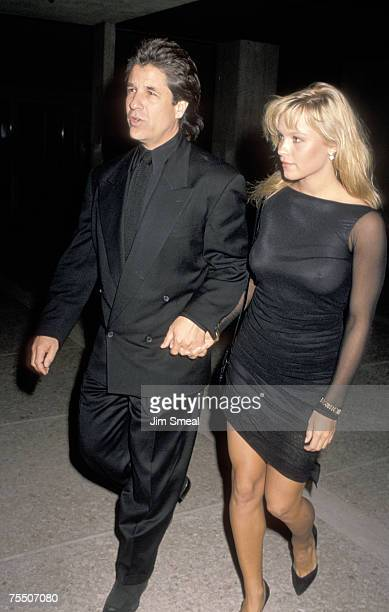 Pamela Anderson And Jon Peters at the Cineplex Odeon in Century City California